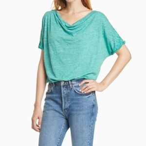 NWT WE THE FREE   CONVERTIBLE NECK ASTRID TEE